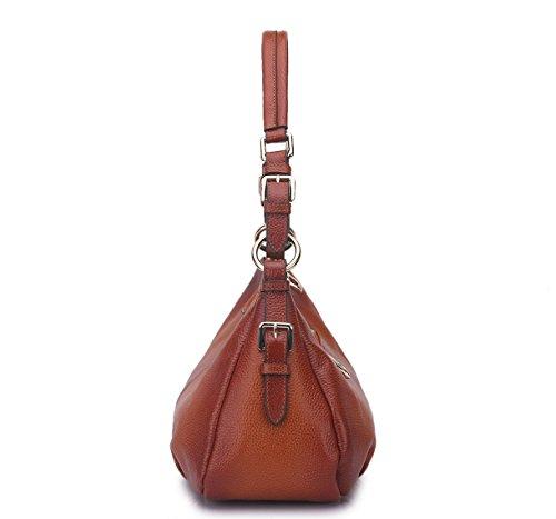 Loyofun , Sac pour femme à porter à l'épaule Marron marron
