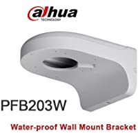 PFB203W Water-proof Aluminum Wall Mount Bracket for Dome Camera HDBWxxR, HDWxxR-Z, HDBWxxE, HDWxxE, HDWxxS,SD22 Series