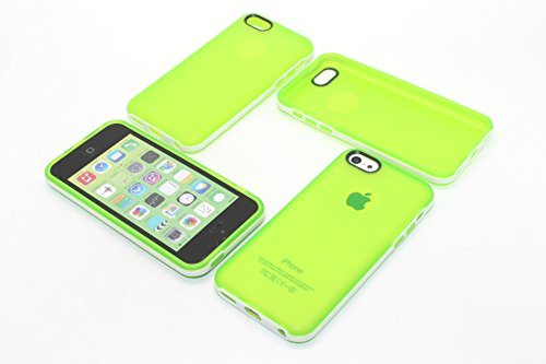 For iPhone 5C Soft Silicone Clear Cases,