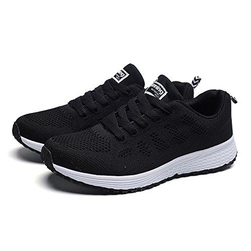 36 Chaussure Chaussures Sport Randonnée Baskets 39 Fille EU Chaussures Femmes Noir 5 de de de Sécurité de GongzhuMM Sneakers Course Chaussures 8wqagaB