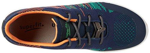 Superfit Strider Jungen Sneakers Blau (Ocean Kombi 81)