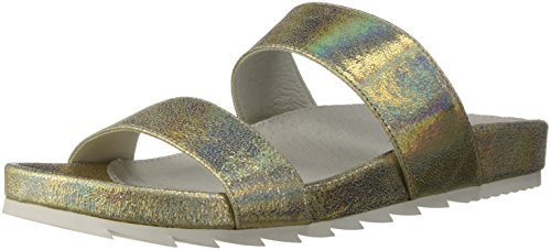 Platino JSlides Women's Crinkle Edie Sandal Fpxf8wqtx