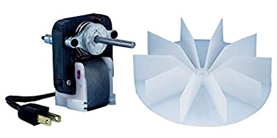 MAYITOP SM550 Universal Bathroom Vent Fan Ventilator Motor 50cfm for Broan Nutone 65100