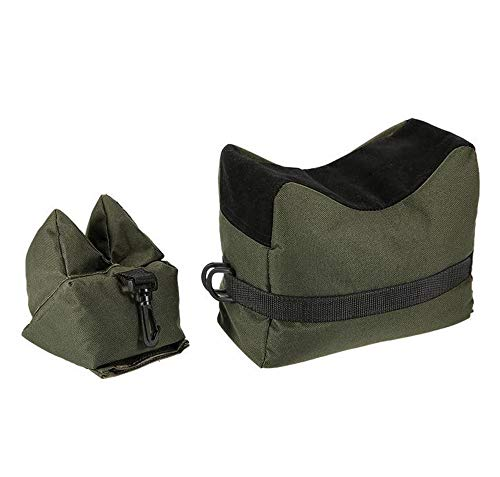 GSRING Outdoor Shooting Rest Bag Front & Rear Bag Rifle Support Bags for Outdoor Hunting Shooter Photography -Unfilled