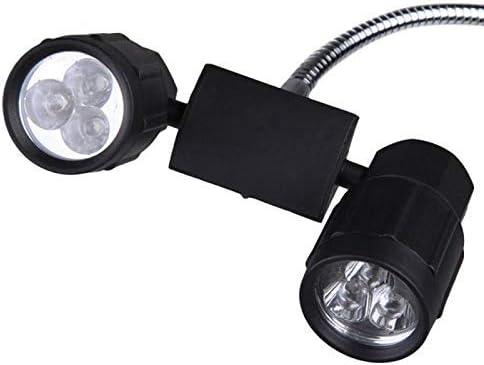 ZHANGYY Hight qualité réglable 360 degrés Rotation 6 LED Grill lumière vive en Plein air Nuit Sports Camping Pique-Nique Barbecue Lampe
