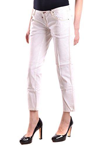 Dsquared2 Damen MCBI107032O Weiss Baumwolle Jeans