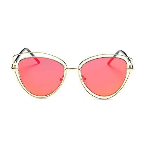 LOMEDO Fashion Cat Eyes Classic Sunglasses for Womens Flash Mirrored - Sunglasses Mens Costco