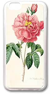 Barbed roses as TPU Transparent Iphone 6 Cases
