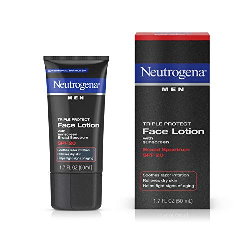 Neutrogena Triple Protect Face Lotion - Neutrogena Triple Protect Men's Daily Face Lotion, 1.7 fl oz