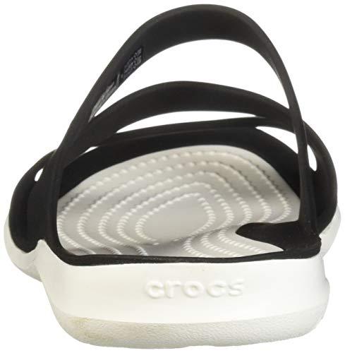 Hvid Sandaler 203998 Sort Kvinde sort Crocs 1q16RwX