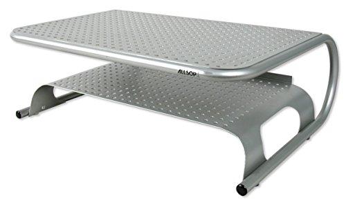 Allsop Metal Art Printer Stand with Shelf for Printers, Monitors, Laptops, TV's (27873)