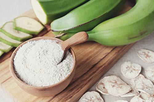 JEB FOODS Plantain flour - 100% Pure Green Plantain Flour paleo diet, gluten free baking, (4lb/64oz)