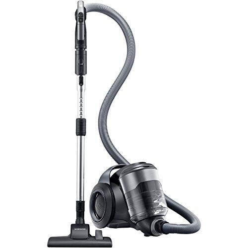 Samsung MotionSync Bagless Canister Vacuum with Superior