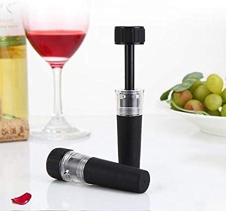 LTLWSH Sacacorchos Camarero,Aireador,Bomba de Vacío,Recogegota para Botella,Juego de Accesorios para Vino Cerveza y Sidra