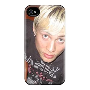 AWU DIYCase Cover Evan Music/ Fashionable Case For Iphone 4/4s