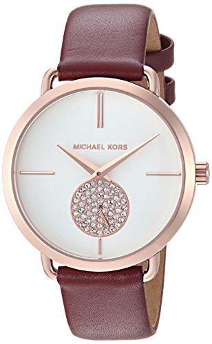 Michael Kors Portia Womens Three Hand Wrist Watch