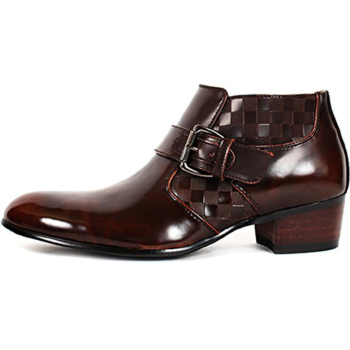 mens dress ankle boots leather - 5