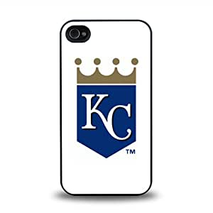 iPhone 4 4S case protective skin back cover with MBL American League Kansas City Royals Team Logo 2014 Latest - 8