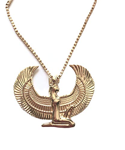 Luxury Defined Egyptian Goddess ISIS Pendant with 19