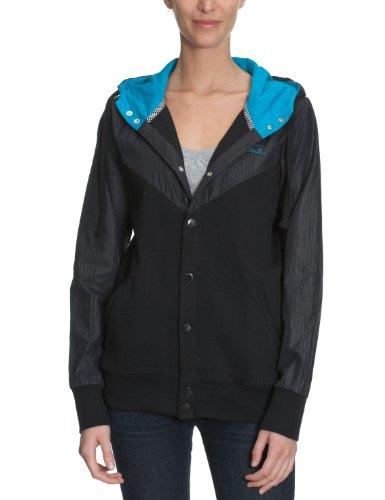 Vans Obispo Gilet à capuche zippé pour femme Noir bleu onyx xl