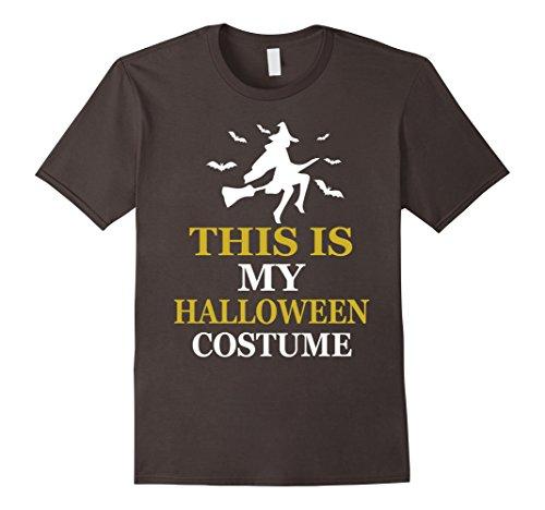 Mens This Is My Halloween Costume T-shirt 3XL Asphalt (Funny Pop Culture Halloween Costumes 2017)