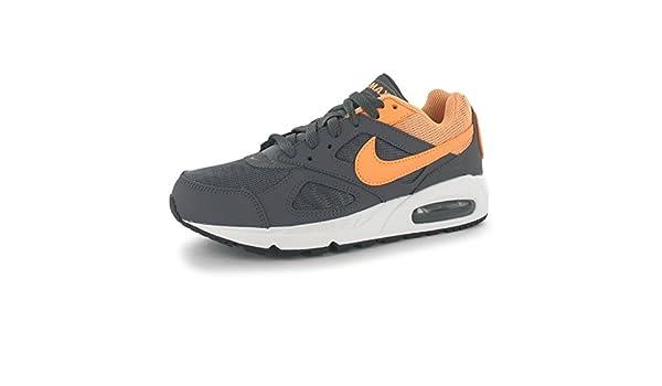 Nike Air MAX Ivo Zapatillas de Entrenamiento para Mujer Gris/melocotón Gimnasio Fitness Zapatillas Zapatillas, Grey/Peach, (UK4) (EU37.5) (US6.5): Amazon.es: Deportes y aire libre