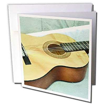 Patricia Sanders Creations - Guitar Strings Music Instruments - Greeting Cards from 3dRose LLC