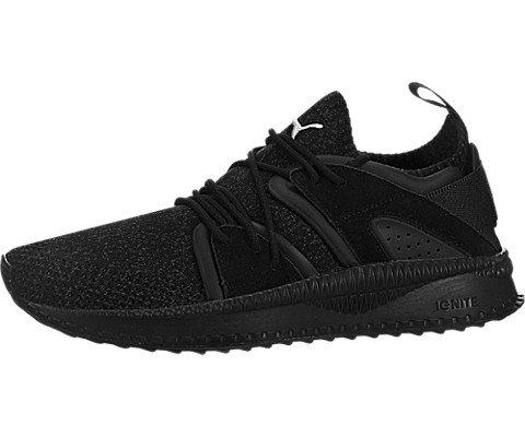 PUMA Men's Tsugi Blaze Evoknit Sneaker, Black-Dark Shadow Black, 9.5 M US (Dark Black Puma Shadow)