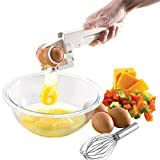 Egg Cracker Separator Easily Separate an Egg From Its Shell