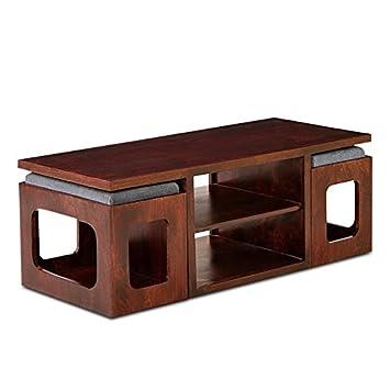 HomeEdge Marlonne Coffee Table With Two Stool Sheesham Wood. HomeEdge Marlonne Coffee Table With Two Stool Sheesham Wood