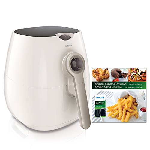 Philips Airfryer, The Original Airfryer with Bonus 150+ Recipe Cookbook, Fry Healthy with 75% Less Fat, White HD9220/58