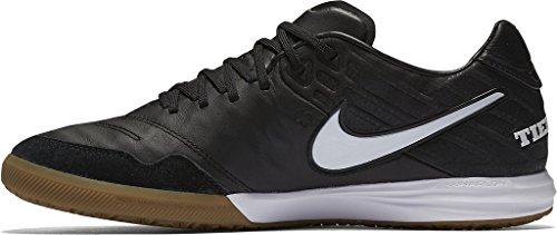 Nike Tiempox Proximo Ic Mens Soccer-shoes 843961 Nero / Nero-gomma Marrone Chiaro