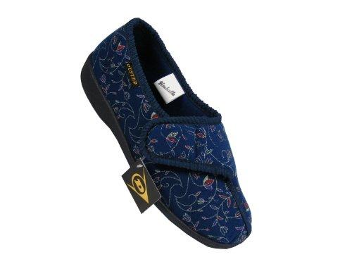 Chaussons Pointure Motif Bleu floral pour Dunlop 39 femme Superstore Ability E6nCqgUE