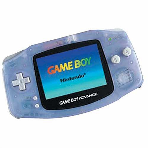 Game Boy Advance Console Glacier