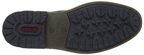 Rieker B1582 - Botas Chelsea para hombre Marrón (havanna/navy / 26)