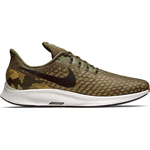 release date 13611 6f8a3 Nike Men s Air Zoom Pegasus 35 GPX Olive Canvas Black Light Orewood Brown  Size