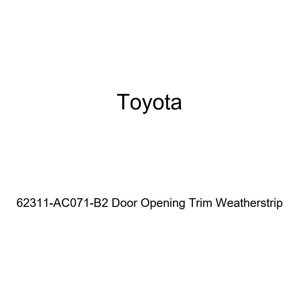 TOYOTA Genuine 62311-AC071-B2 Door Opening Trim Weatherstrip