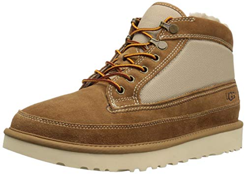 UGG Men's Highland Field Boot Fashion, Chestnut, 10 Medium -