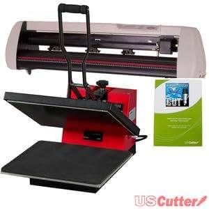Amazon Com 24 Quot Vinyl Cutter Amp 15 Quot X15 Quot Heat Press T