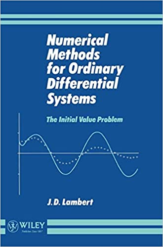 Butcher for numerical differential pdf methods ordinary equations