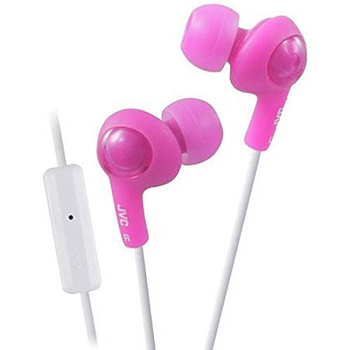 JVC Gumy Plus In-Ear Earbud Headphones with Microphone