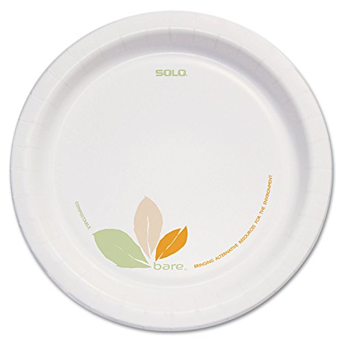 SCCOFMP9 - Bare Clay-Coated Paper Dinnerware