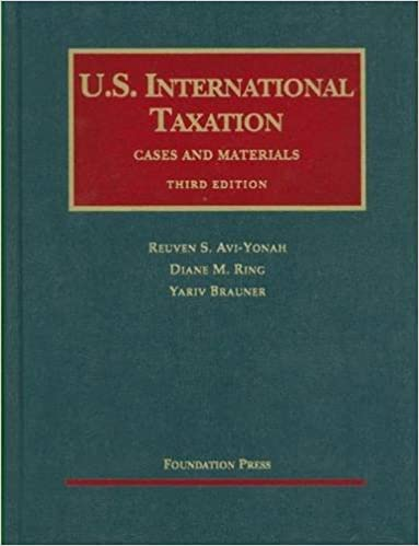 US INTERNATIONAL TAXATION DOWNLOAD