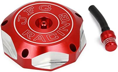 CNC /à gaz du r/éservoir de carburant Cap Cover sans cl/é en aluminium billet Twist Off pour Honda XR 70r 80/80r 100R 200/250/400/600L 650l 650R CRF 250/x 250R XR 450R 450/x 450rx XR TRX 400EX 450R