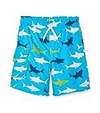 Hatley Boys' Big Board Shorts, Shark Alley, 8 Years