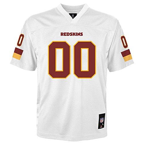 (NFL Washington Redskins Toddler Fashion Jersey White, 4T)