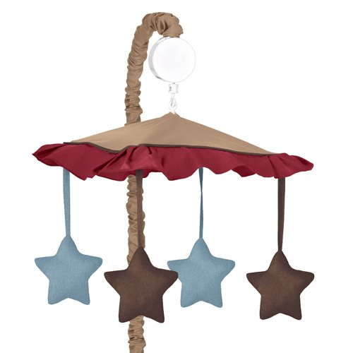 Sweet Jojo Designs All Star Sports Musical Baby Crib Mobile by Sweet Jojo Designs