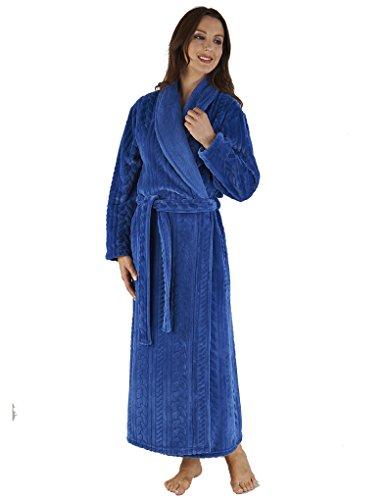 Slenderella Robe de Chambre 132cm - Bleu HC04318