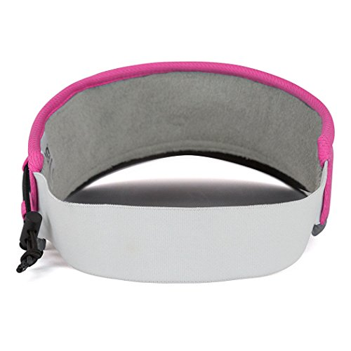 Gone For a Run Ultralight Visor with RunTechnology | Moisture Wicking and Reflective Sports Visor | Pink by Gone For a Run (Image #6)