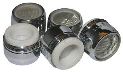 Larsen Supply 09-1017 5-Pack 15/16 Dual Thread Chrome-Plated